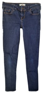 Hollister Blue Xsmall Jeggings-Dark Rinse