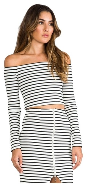 Preload https://item1.tradesy.com/images/nicholas-black-and-white-breton-night-out-top-size-2-xs-2102345-0-0.jpg?width=400&height=650