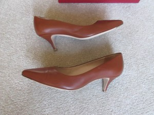 Salvatore Ferragamo Brown Pumps