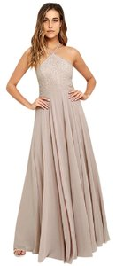 Taupe Maxi Dress by Lulu*s