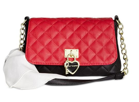 Preload https://img-static.tradesy.com/item/21023550/betsey-johnson-quilted-diamond-black-red-white-shoulder-bow-faux-leather-cross-body-bag-0-1-540-540.jpg