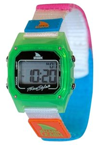 Freestyle 10027026 Shark Multicolor Nylon Bracelet With Grey Digital Dial