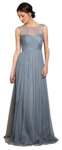 Jenny Yoo Mayan Blue Aria - Soft Tulle Dress
