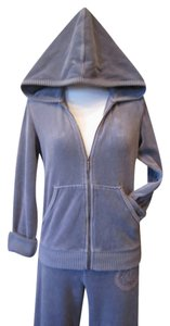 Juicy Couture JUICY COUTURE DARK GREY JEWELED TRACKSUIT