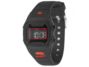 Freestyle 10027426 Shark Classic Black Silicone Bracelet With Grey Digital Dial