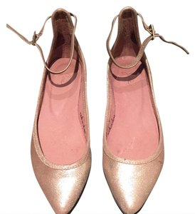 Joie Gold Flats