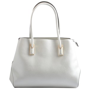 USO COUTURE Leather Handbags Tote in Champagne