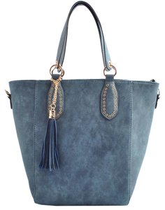 USO COUTURE Fashionforwomen Fashion2017 Bags2107 Designerbags Tote in Blue