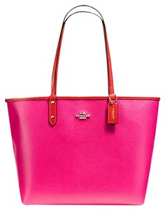 Coach Travel Oversized Large Multifunction Multicolor Tote in Pink