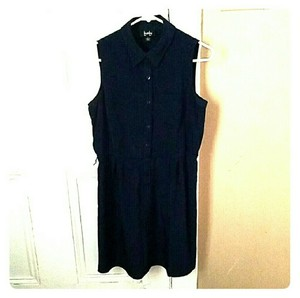 by&by short dress Navy Blue Work And Play on Tradesy