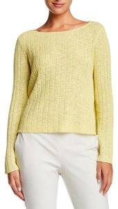 Eileen Fisher Crop Organic Cotton Organic Linen Sweater