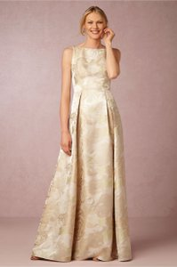 Adrianna Papell Champagne Audrey Dress