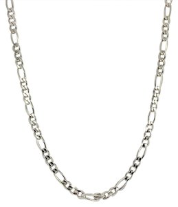 Other 925 Sterling Silver Figaro Chain 20 Inches