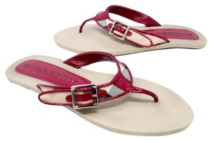 Burberry Gucci Versace Givenchy Miller Pink Sandals