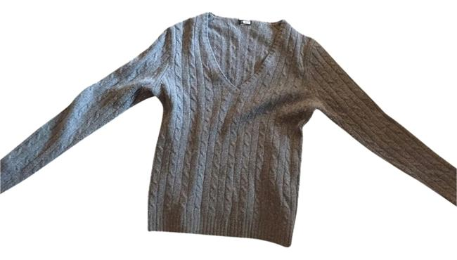 Preload https://item3.tradesy.com/images/jcrew-charcoal-cable-knit-pullover-cardigan-size-4-s-2102442-0-0.jpg?width=400&height=650