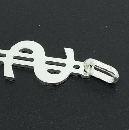 Other 925 Sterling Silver Dollar Sign Pendant