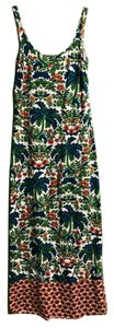 Multi - Red, Green, Blue Maxi Dress by Tommy Bahama Floral Maxi Beach