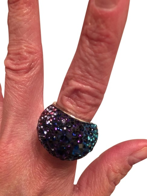 Item - Multi Purple and Teal Ring