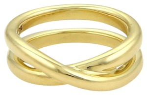 Tiffany & Co. Tiffany & Co. Picasso 18k YGold Crossover X Design Band Ring Size 6.5