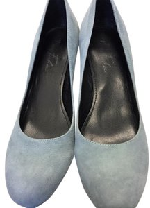 Marc Fisher Powder (light) Blue Suede Pumps
