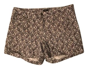 J.Crew Floral Pattern Patterns Stretchy Shorts Various