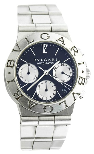 Preload https://img-static.tradesy.com/item/21024840/bvlgari-stainless-steel-diagono-chronograph-ref-ch35s-watch-0-1-540-540.jpg