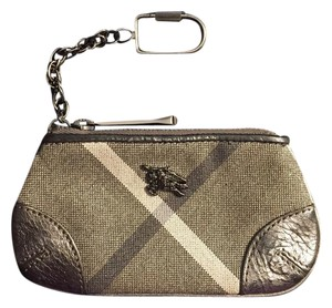 Burberry Burberry Coin, Card & Cash Pouch with Keychain!