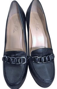 Marc Fisher Black Leather Pumps