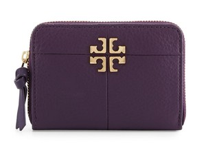 Tory Burch Ivy Zip Coin Case, Nightshade