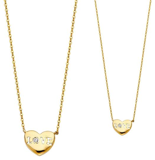 Preload https://img-static.tradesy.com/item/21024895/yellow-14k-love-necklace-0-1-540-540.jpg