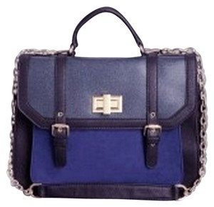bebe Navy Messenger Bag