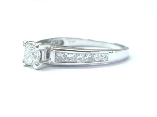 Other The LEO Princess Cut Diamond Engagement White Gold Jewelry Ring 1.33Ct
