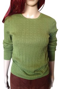 Magaschoni Crew Neck Cable Sweater