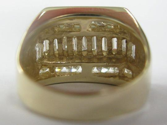 Other 18KT Round & Baguette Diamond Jewelry Ring Yellow Gold 3.05CT