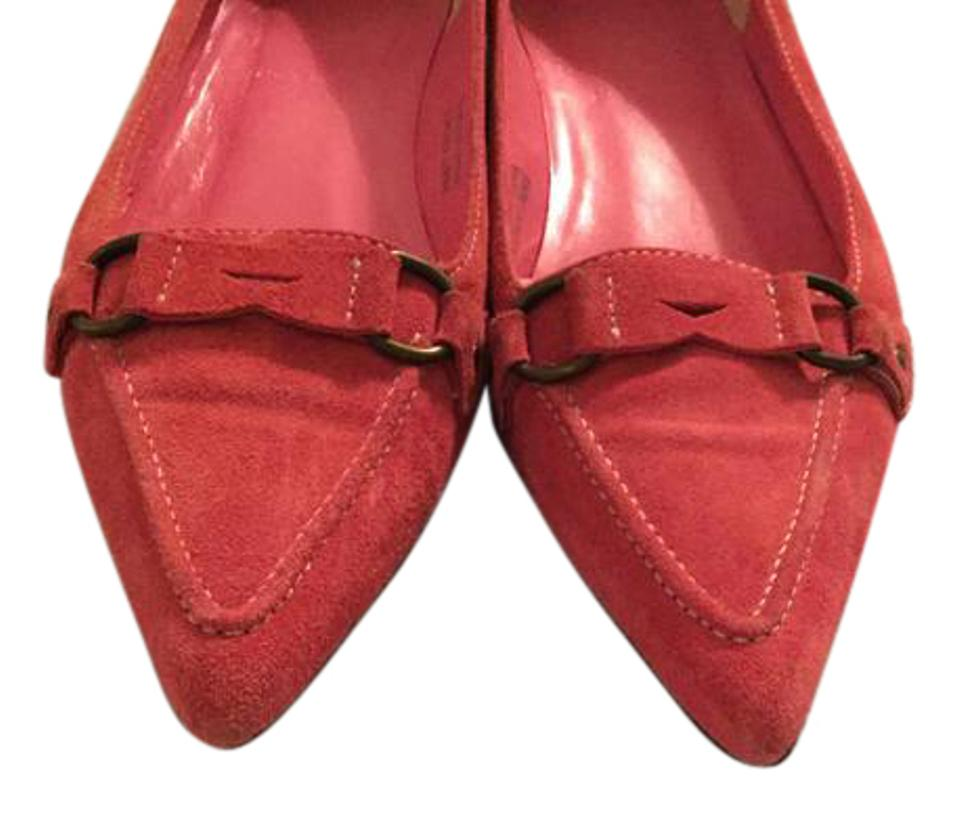 37a499d2787e5 Pink Pointy Flats