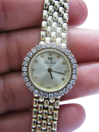 Preload https://img-static.tradesy.com/item/21025105/lucien-piccard-g-h-circular-diamond-wristwatch-96ct-yellow-gold-14kt-watch-0-1-540-540.jpg