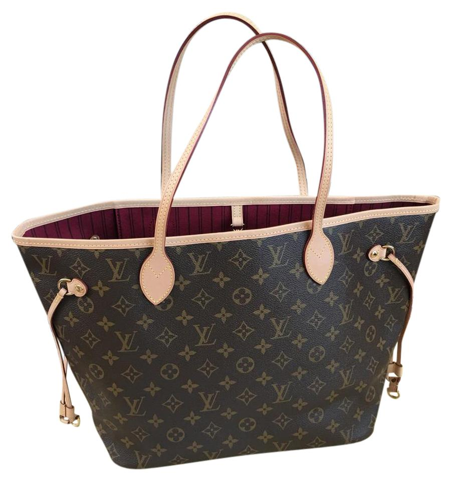 f2d0bb5d8871 Louis Vuitton Neverfull Mm Monogram with Discontinued Color Of ...