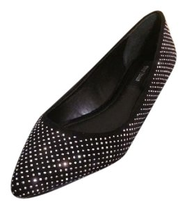White House | Black Market Black Studded Flats