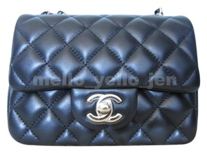 Chanel Leather Classic Quilted Cross Body Bag