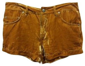 Free People Dress Shorts gold