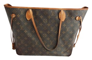 Louis Vuitton Monogram Lv Neverfull Shoulder Bag