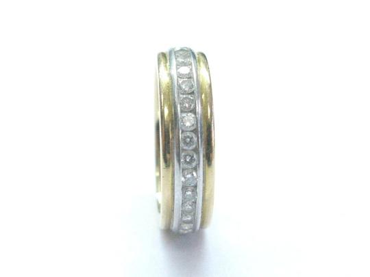 Tiffany & Co. Tiffany & Co Platinum/18Kt Diamond Wedding Band .64Ct Size 5