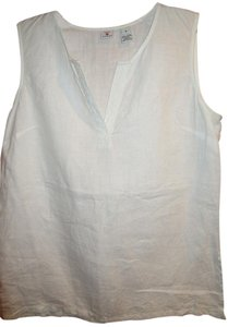 Saks Fifth Avenue Linen Sleeveless Spring Summer Tunic