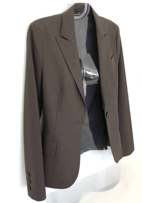 Theory Gabe B Tailor Fitted Stretch Wool Shortsuit