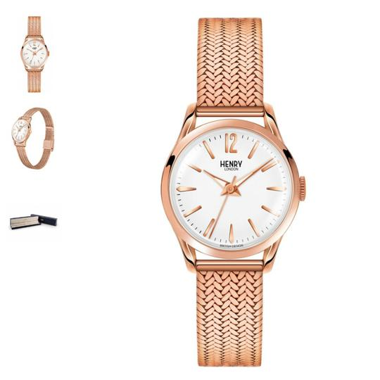 Preload https://img-static.tradesy.com/item/21025690/rose-gold-richmond-with-italian-mesh-strap-watch-0-2-540-540.jpg