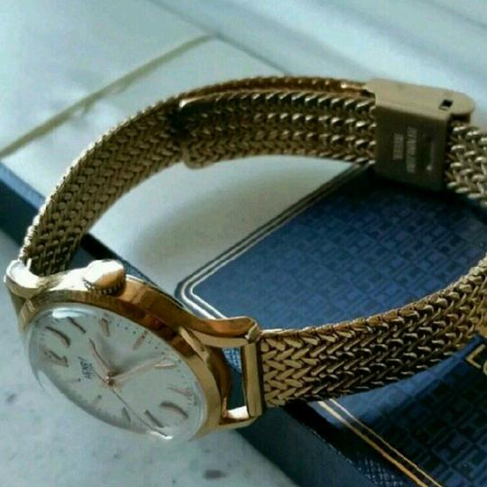 Henry London Henry London Richmond Watch with Rose Gold Italian Mesh Strap