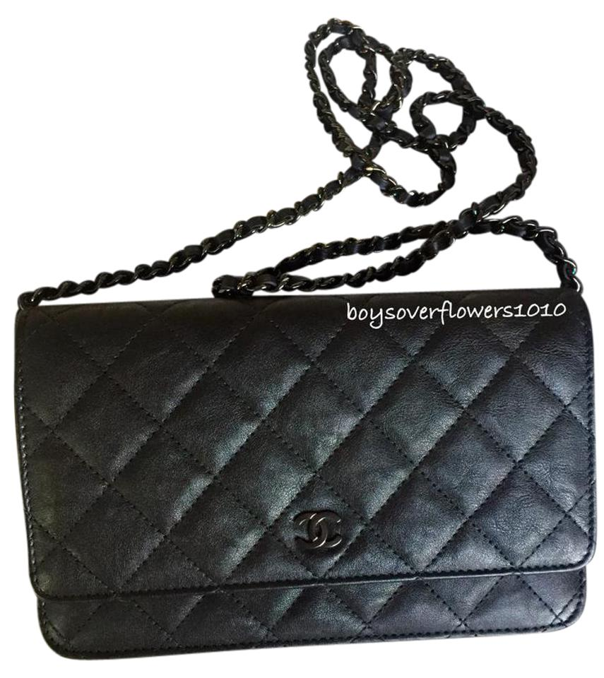 29166576d5a008 Chanel Woc So Black Wallet On Chain So Black Woc Cross Body Bag Image 0 ...