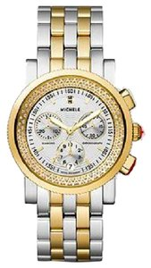 Michele !! EDITION!! NWT Sport Sail High Shine Diamond Two-Tone MWW01C000132