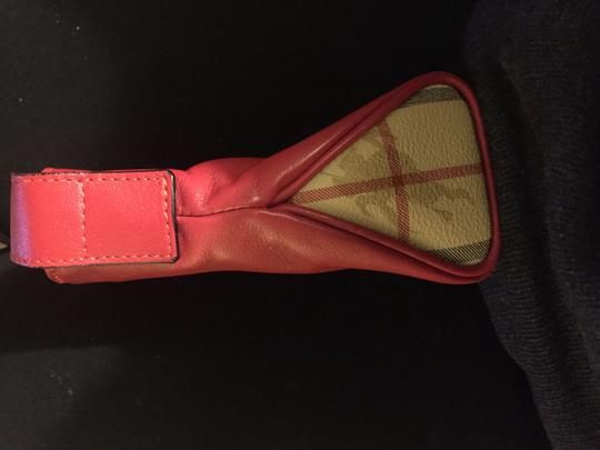 Burberry Brit Tote in Red