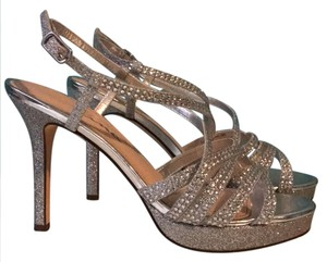 Touch of Nina silver Platforms
